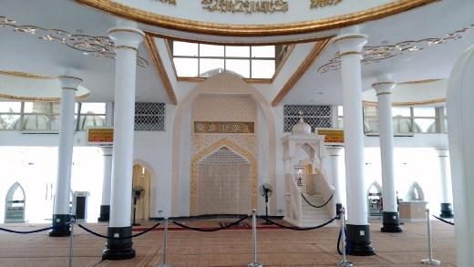 Inside Masjid Kristal