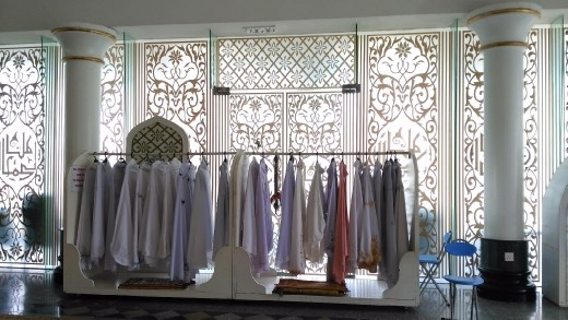 Clothes for visitors
