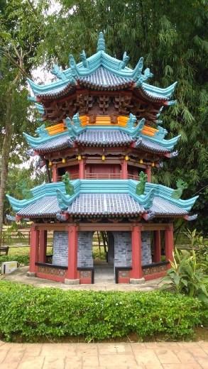 Model of Xian Mosque, China