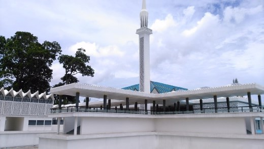 Model of National Mosque, Malaysia