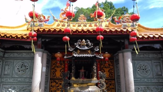 Ho Ann Kiong Temple by day