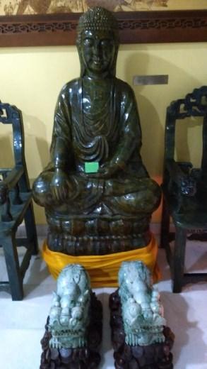 Exhibit at Jade Museum