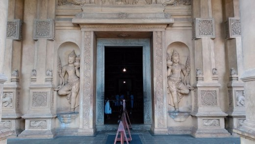 Entrance to main temple