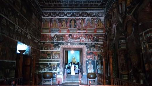 First chamber of Kelaniya Raja Maha Vihara