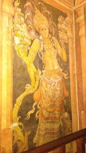 Random mural of Kelaniya Raja Maha Vihara