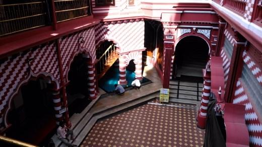 Inside Jami Ul-Alfar Mosque
