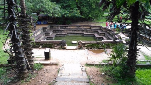 Kumara Pokuna or royal baths