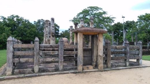 Pavillion in Sacred Quadrangle