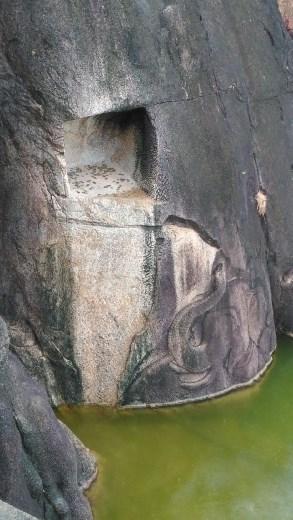 Isurumuniya temple carving