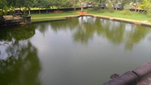 Isurumuniya temple pond