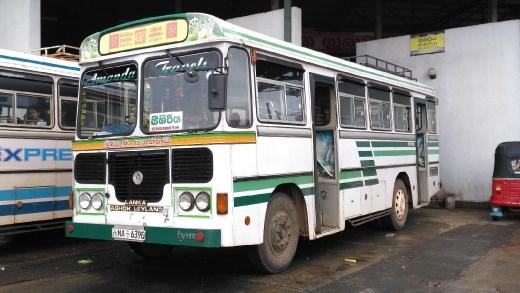 Bus Dambulla to Sigiriya