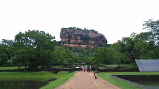 Entering Sigiriya Site