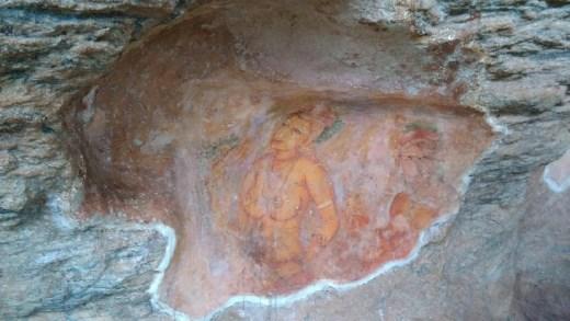 Frescos of Sigiriya