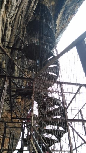 Steps at Sigiriya