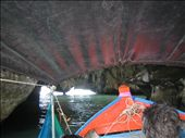 Our boat for the tour about to go through a cave.: by machel, Views[281]