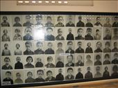 Photos of genocide victims. The Khmer Rouge kept good records of thier