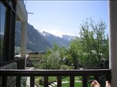 This is the view from our hotel balcony in Manali where we would drink Chai in the mornings.: by machel, Views[238]
