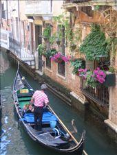 Venice canal with gondola.: by machel, Views[289]