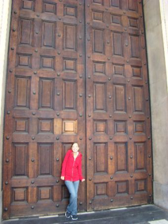 The doors to St.Paul's