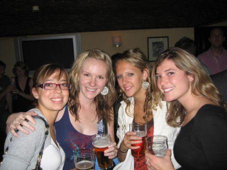 At a tiny bar around the cornor called Kavanaugh's