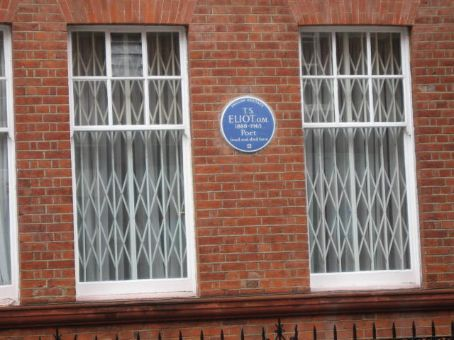 Where T.S. Eliot lived