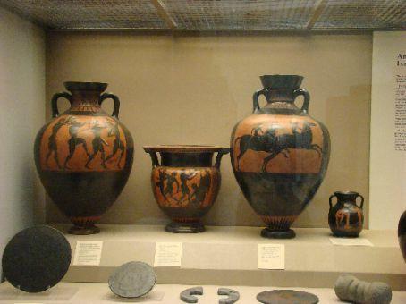 Greek Pottery British Museum Dickens Tour Bath Stonehenge Etc
