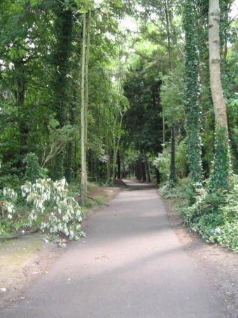 The walk to Malahide Castle