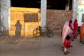 A riot of colours as women gather for a wedding.: by mahenbala, Views[253]