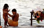 Local women rely on the lake for their daily washing and bathing.: by mahenbala, Views[2164]