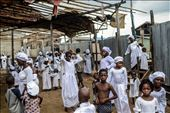 Christians wait for a religious ceremony at the Church of God in the floating sl: by makoko, Views[81]