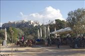 Relaxing and enjoying a coffee under the Acropolis.: by malko, Views[247]
