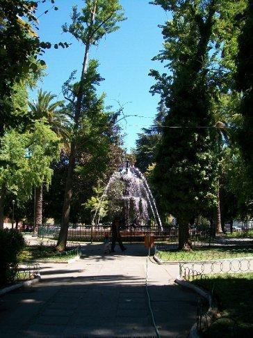 Praça das Armas de San Fernando (aos poucos, estou descobrindo que cada cidade tem uma...)