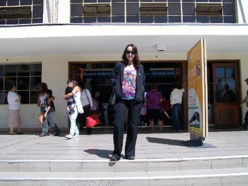 Estação de trem de Rancagua.