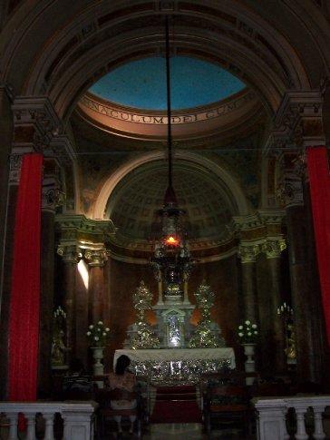 A capela do Santíssimo