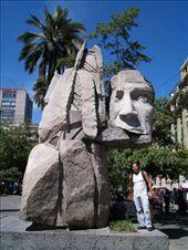 O monumento aos povos indígenas - e um representante tupiniquim: by mandybr, Views[168]