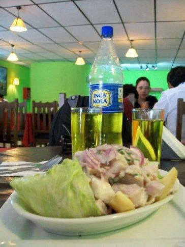 No restaurante peruano