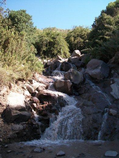 Dia 20: depois de passar o dia na obra, continuamos o caminho da cordilheira até Termas del Flaco.