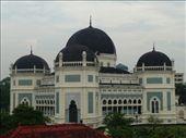my balcony view of mosque wot woke me up in medan -grump grump!: by manjinder_nagra, Views[254]