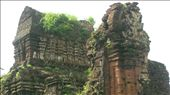 My Son Hindu Temples near Hoi An (5th-15th centuries). Bombed by the USA, defaced by the French.: by manu-sean, Views[348]