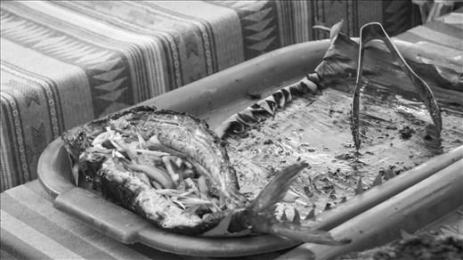 White fish. Legazpi Sunday Market