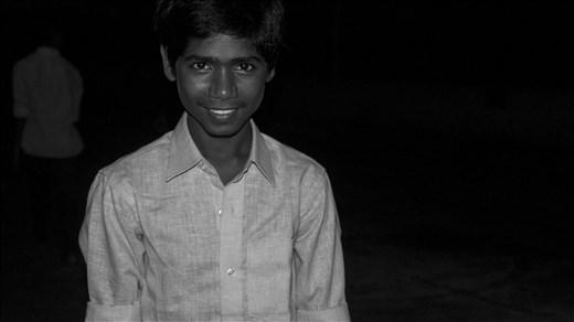 Estudiante de Nalanda V.P. School. Kobardanga.