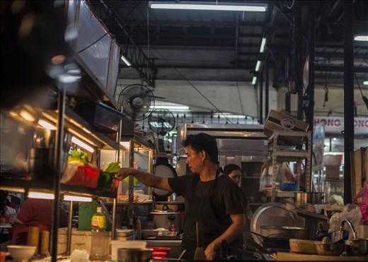 Food Court. Georgetown. Malasia