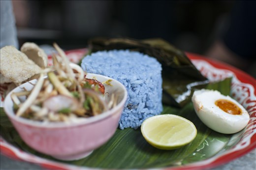 Fusion Cuisine. Georgetown. Malasia