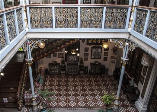 Pinang Peranakan Mansion. Georgetown. Malasia