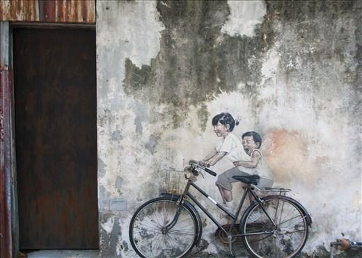 Street Art. Georgetown. Malasia.