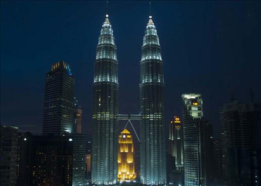 Torres gemelas. Kuala Lumpur.