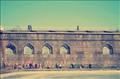 People taking the sun at the Peter and Paul Fortress in Saint Petersburg: by marcelo, Views[425]
