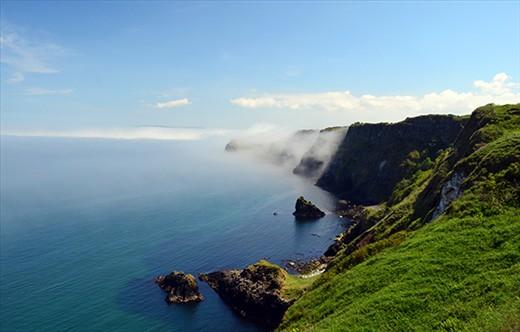 Foggy Kinbane Head (Northen Ireland)
