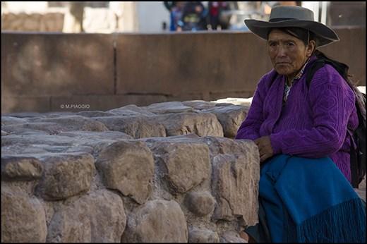 Mujer en Humahuaca, provincia de Jujuy, Argentina.