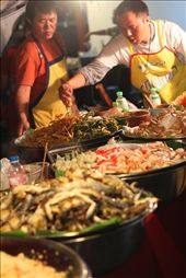 At the heart of every culture is its food. Even street food in Thailand is prepared with gusto, flare and precision.  : by maree323, Views[127]